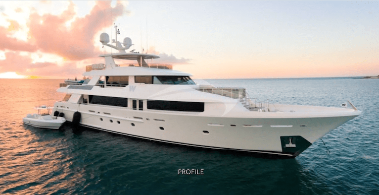 189ft Feadship motor yacht W is loaded with luxury and toys and operates on the East Coast United States and the Caribbean