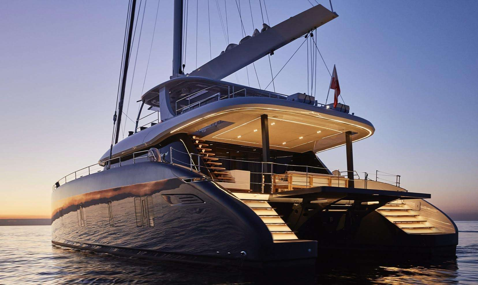 78ft Sunreef catamaran GENNY operates in Greece