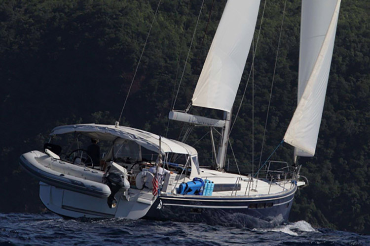 52ft Sun Odyssey sailing yacht DAUNTLESS operates in New England - Sag Harbor, NY