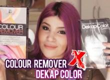 Colour Remover (Alpha Line) versus Dekap Color (Yamá)