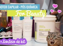 For Beauty – Botox Capilar, Pós Química [+Vídeo]