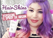 HairShine – VipShine e Spray de Argan