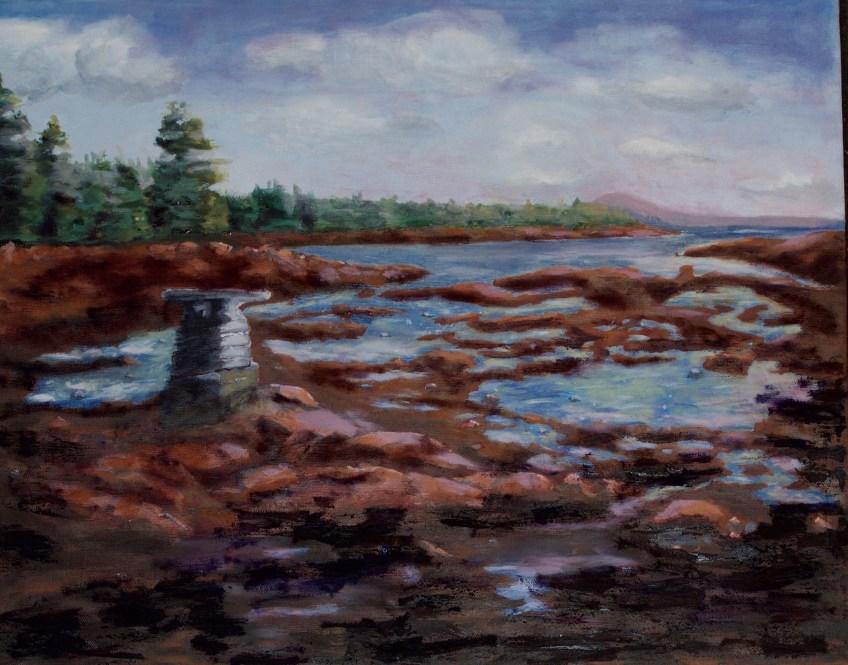Oil 16x20 framed