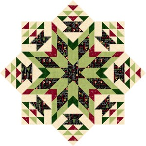 """Holiday Homecoming – Merry and Bright"" Free Quilted Table Top Pattern designed by Carol Moeller from Carol Moellers Designs"