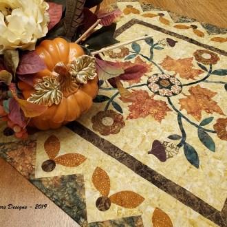"""Harvest Rose – October """"Top It Off"""" Island Batik Challenge"""