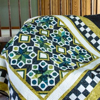 June Island Batik Challenge – Octadic Stars