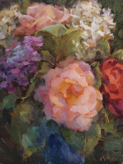 June Roses and Hydrangeas