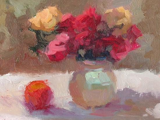 Roses and Orange