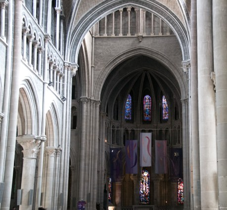 Nave of Lausanne Cathedral