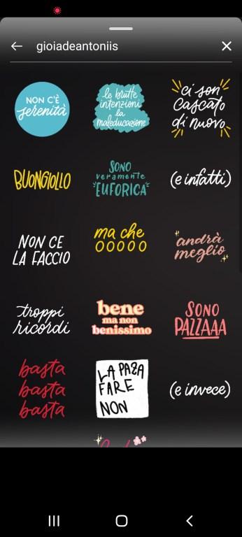 gif instagram stories italiano