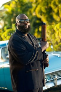 Rick Ross-PJs and gun