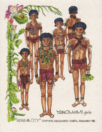 07_Yanomami Girls for Disney