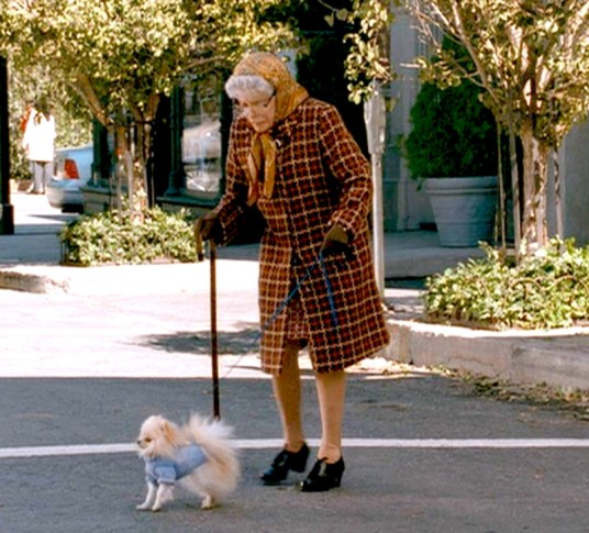 22_Old Lady and dog