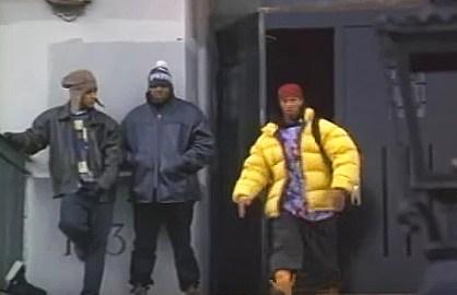 Yellow jacket with homies