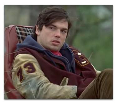 *Actor in letterman jacket