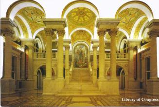 library of congress visitors gallery
