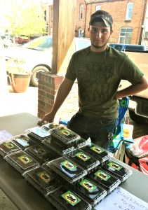 jacob selling blackberries