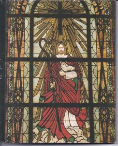 The stained glass window in our church