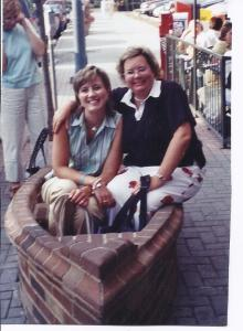 me and Cathy Carter in Chattanooga