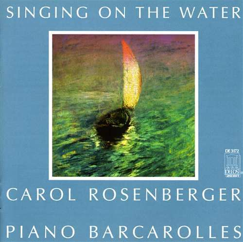 Singing on the Water: Piano Barcarolles