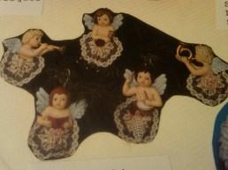 Scioto 1494 cherub ornaments (5)