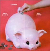 Alberta 0818 Porky Pig Bank
