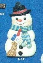 Alberta Ornaments 0054 Snowman