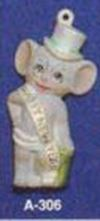 Alberta Ornaments 0306 New Year's mouse