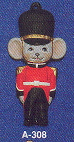 Alberta Ornaments 0308 royal guard mouse
