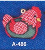Alberta ORnaments 0486 stuffed chicken