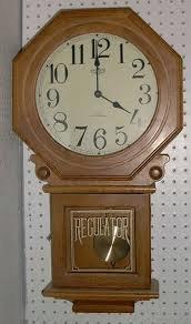Duncan 0362B schoolhouse clock like this
