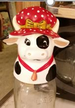 Kimple 0852 Cow jar lid cover CC
