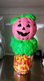 Kimple 0905 pumpkin jar lid cover Alexis Short