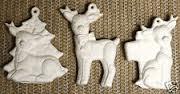 Kimple 1119 stuffed (soft) reindeer ornaments