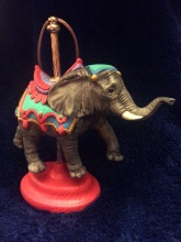 Kimple 1647 Carousel Ornament Elephant 2