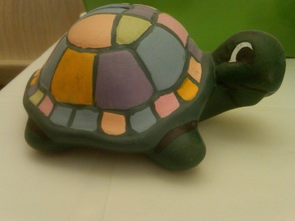 Ross 0542 Tommy turtle pastels CC