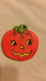 S-K 476 Corky pumpkin (jack-o-llantern)