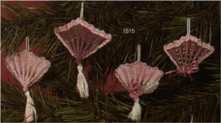 Scioto 1515 large fan ornaments