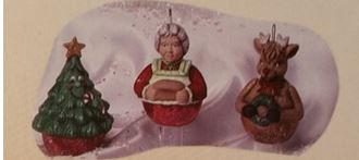 scioto 2495 claus rudy tree ornaments
