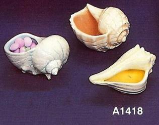 Atlantic 1418 shell party favors