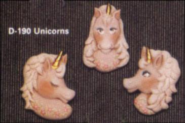 Dona 0190 unicorn magnets