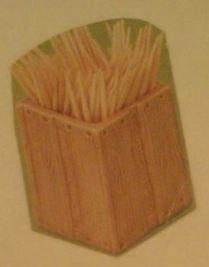 Dona 0227 toothpick crate