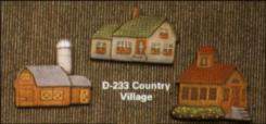 Dona 0233 country village magnets