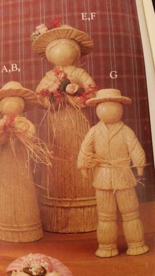 Gare 1384 Largest Straw Doll