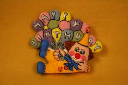 Kimple 1697 clown blinkie pastels