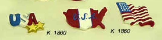 kimple 1860 patriotic magnets