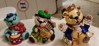 Twelve Days of Christmas Bears 10-12 CC