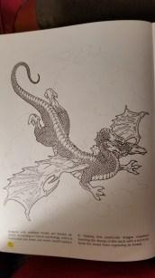dragon drawing hydra