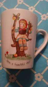 Junes Hummel cirl cup decal