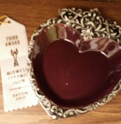 heart dish Lesa MCS17